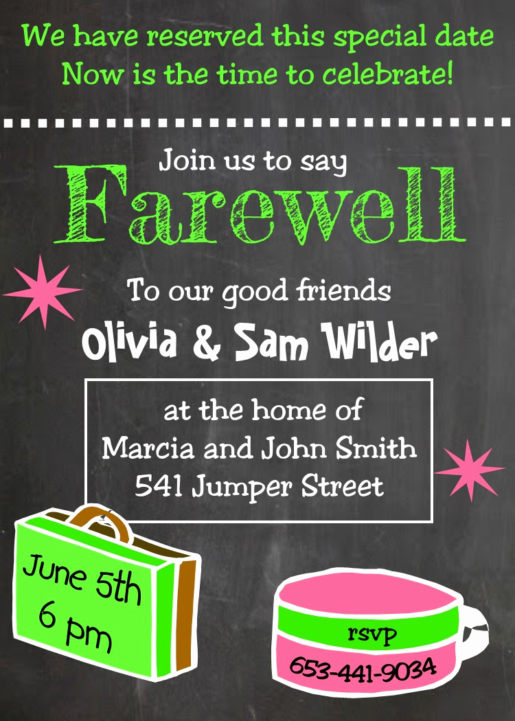 Going Away Party Invitation Lovely Going Away Party Invitations New Selections Summer 2018