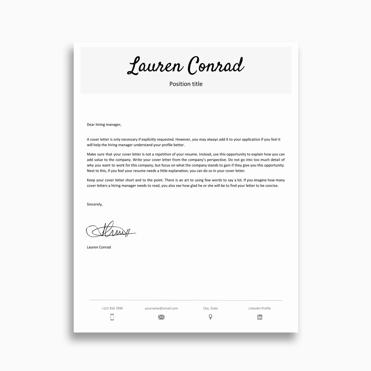 Google Cover Letter Template Inspirational Google Docs Cover Letter Templates 9 Examples to Download now