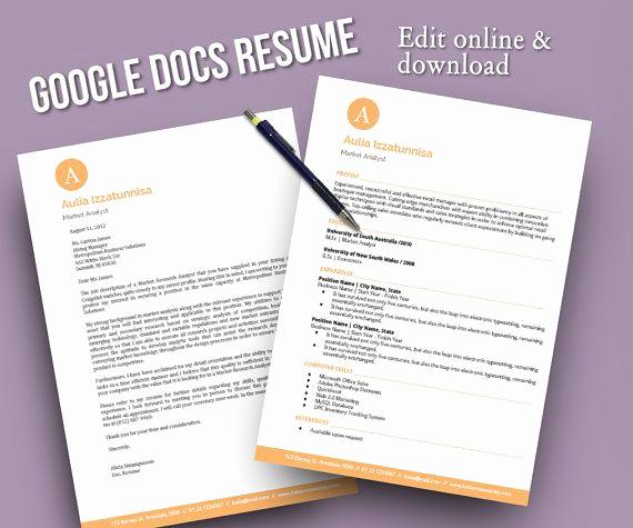 Google Doc Cover Letter New 13 Best Google Docs Templates Images On Pinterest
