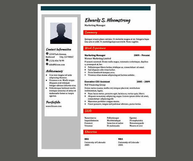 Google Doc Flyer Template Awesome 30 Google Docs Resume Template to Ace Your Next Interview