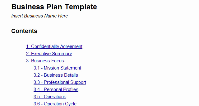 Google Docs Business Plan Template Fresh Business Plan Template Google Docs