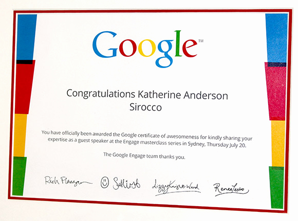 Google Docs Certificate Template Awesome Certificate Of Google Awesomeness