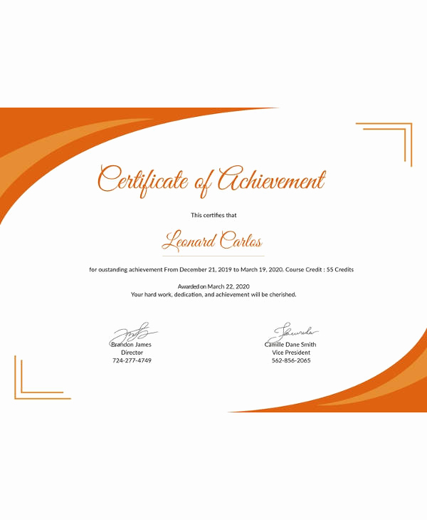 Google Docs Certificate Template Lovely Certificate Template 45 Free Printable Word Excel Pdf