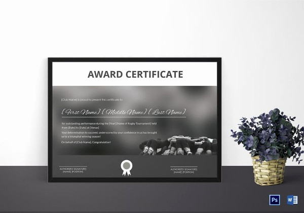Google Docs Certificate Template New Certificate Template 50 Printable Word Excel Pdf Psd
