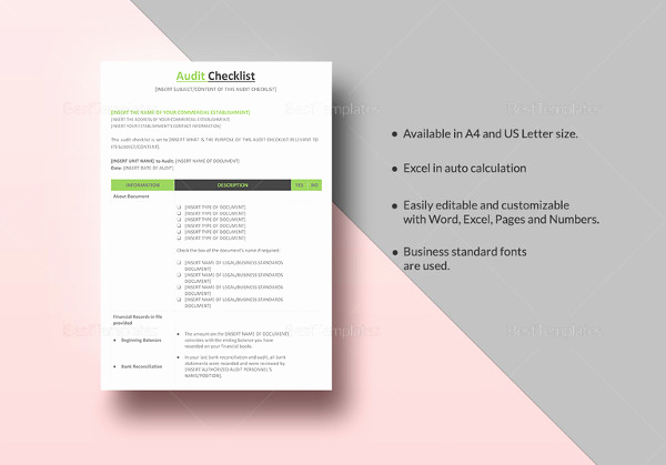 Google Docs Checklist Template Beautiful 34 Word Checklist Templates