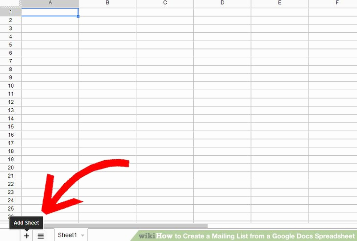 Google Docs Checklist Template Luxury How to Create A Mailing List From A Google Docs Spreadsheet