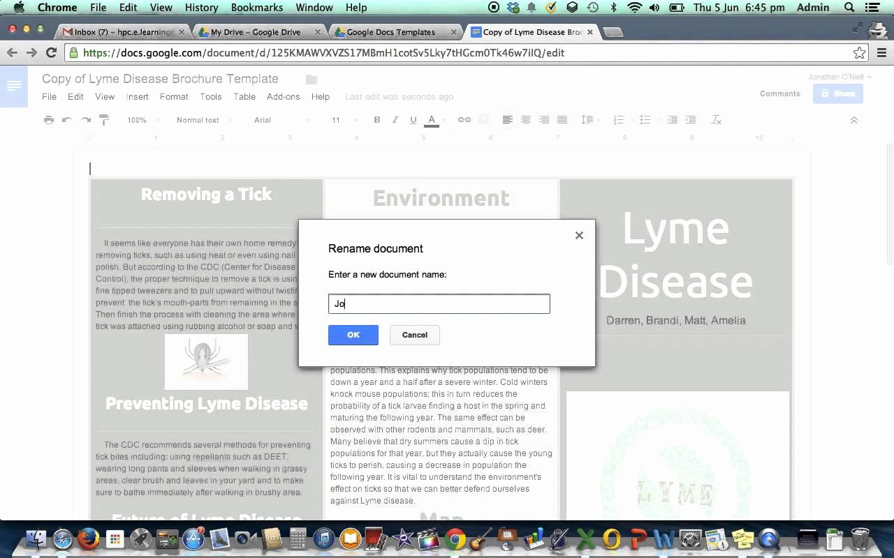 Google Docs Letter Template Beautiful Google Doc Template Brochure