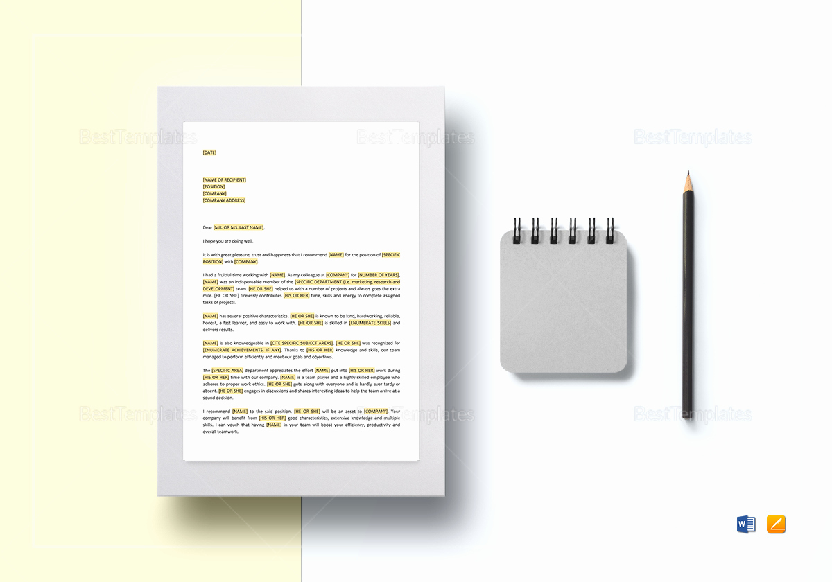 Google Docs Letter Template Fresh Letter Of Re Mendation Template In Word Google Docs