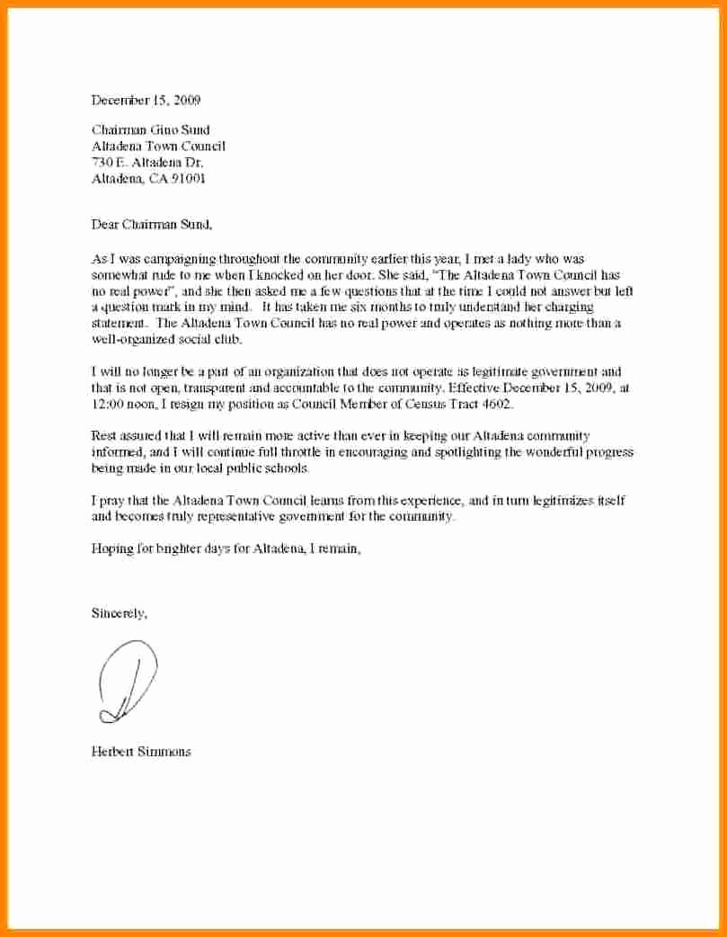 Google Docs Letter Template Luxury 7 Resignation Letter Template Google Docs