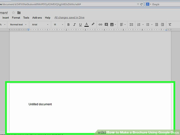 Google Docs Pamphlet Template Inspirational How to Make A Brochure Using Google Docs with