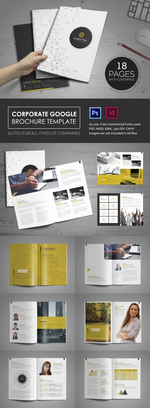 Google Docs Pamphlet Template Luxury 10 Fabulous Google Brochure Templates