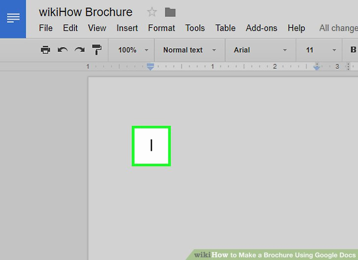 Google Docs Tri Fold Brochure Elegant How to Make A Brochure Using Google Docs with