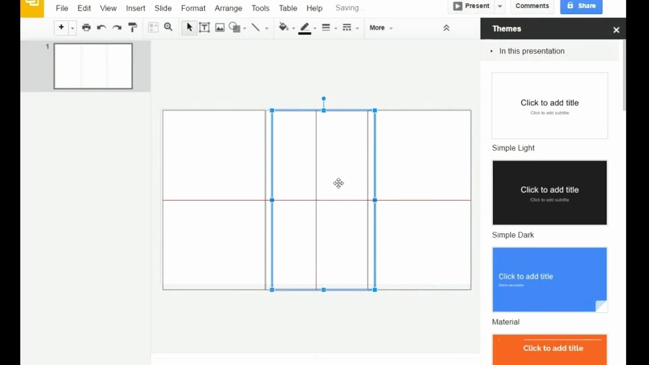 Google Drive Brochure Template Inspirational Tri Fold Brochure Template for Google Slides