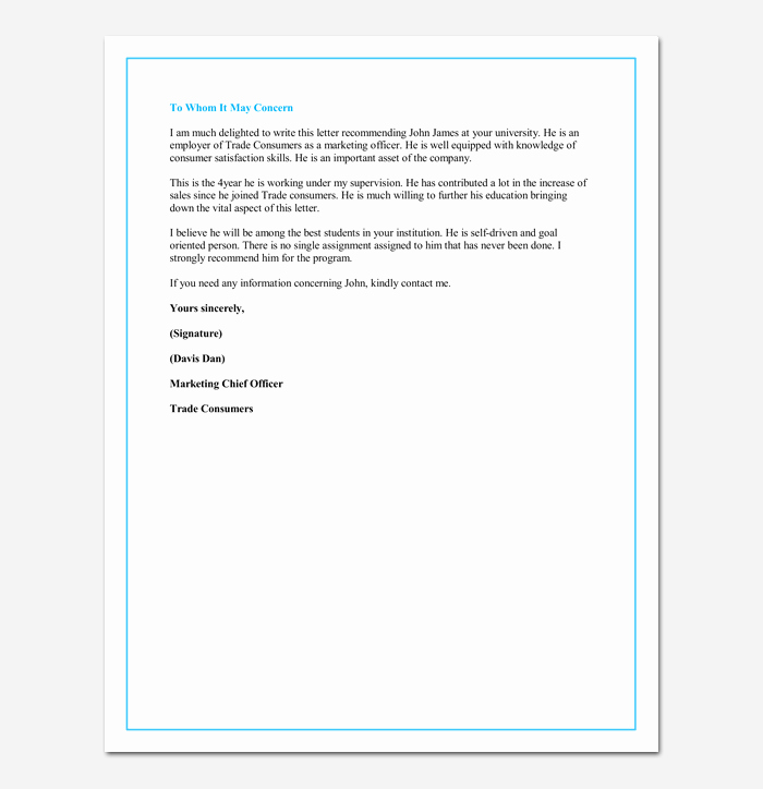 Grad School Letter Of Recommendation Beautiful Letter Of Re Mendation for A Graduate School 5 Sample