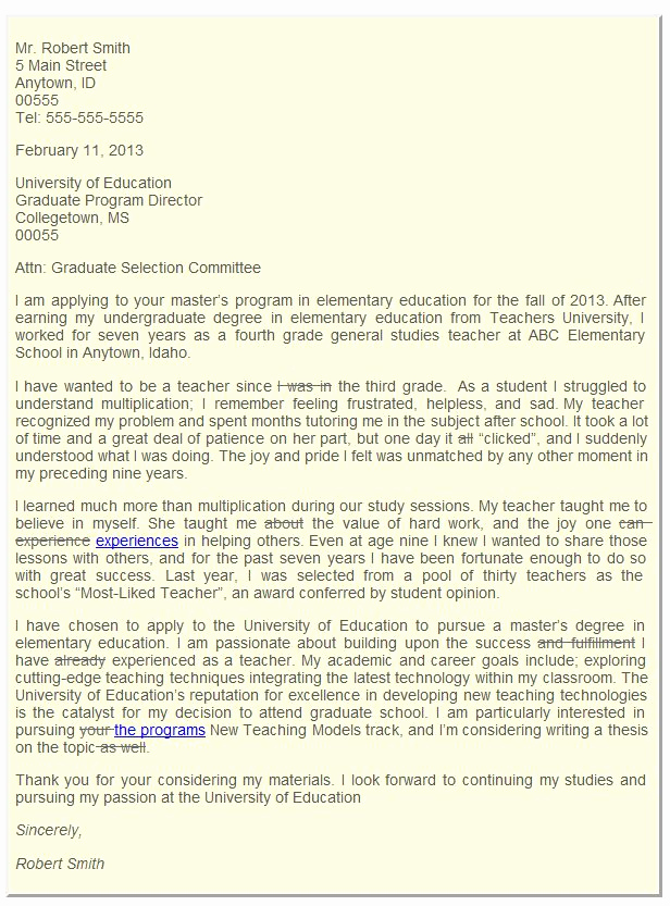 Graduate School Letter Of Intent Awesome Sample Letter Of Intent for Graduate School