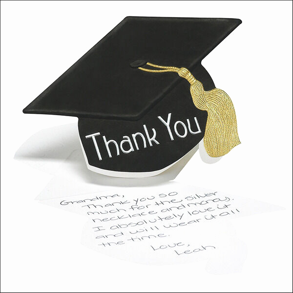 Graduation Thank You Notes Best Of 50 Graduation Hat Thank You Cards Notes High School or