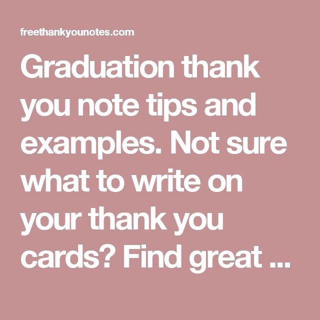 Graduation Thank You Notes New Best 25 Graduation Thank You Cards Ideas On Pinterest