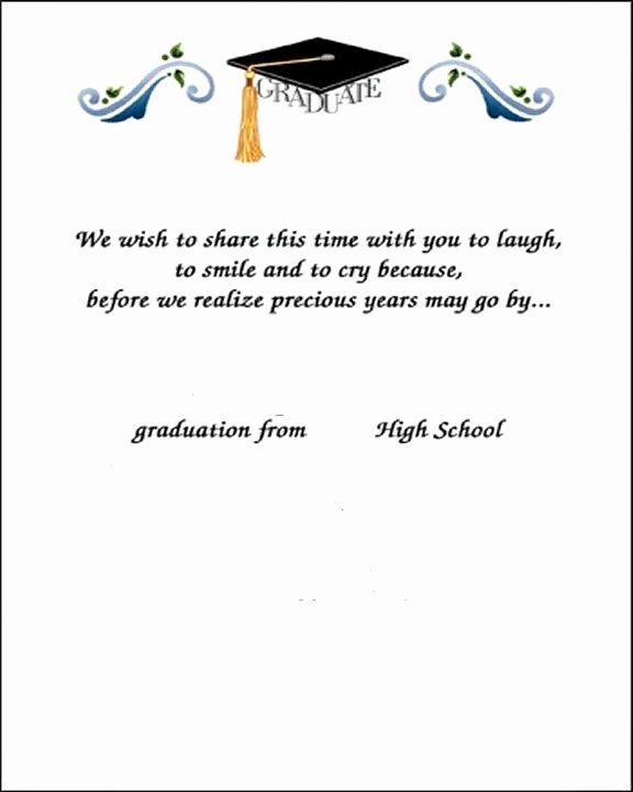 Graduation Thank You Notes New Thank You Card Examples