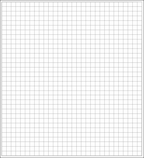 Graph Paper Template Word Lovely 7 Printable Math Graph Paper Templates