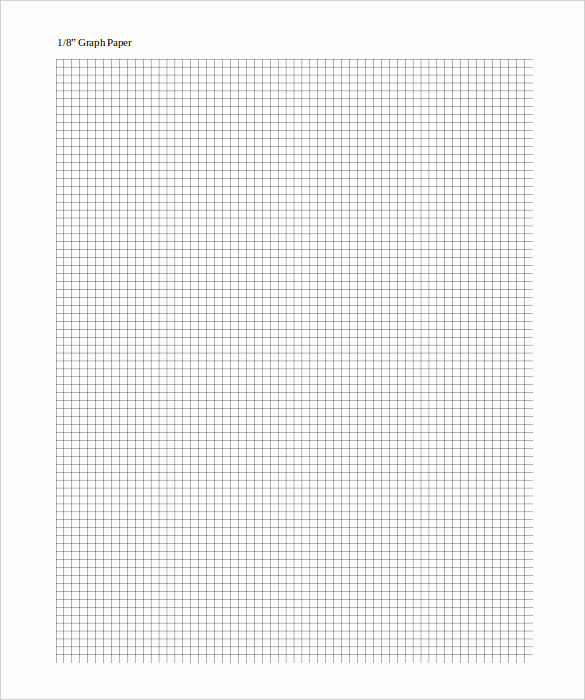 Graph Paper Template Word Lovely Graph Paper Template – 10 Free Pdf Documents