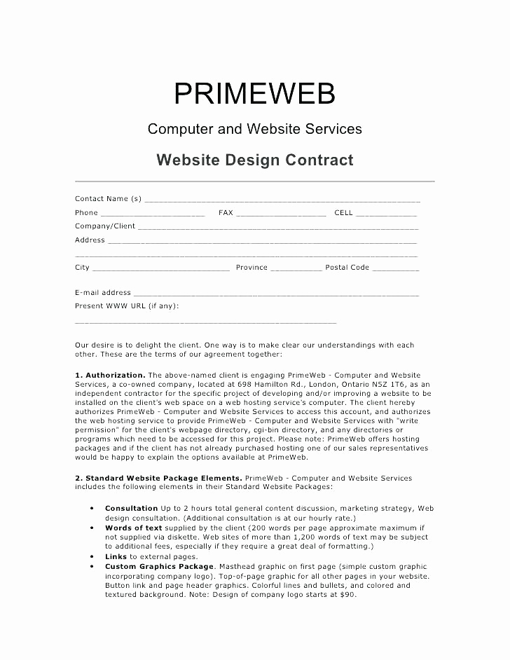 Graphic Design Contract Template Inspirational 15 Freelance Contract Template