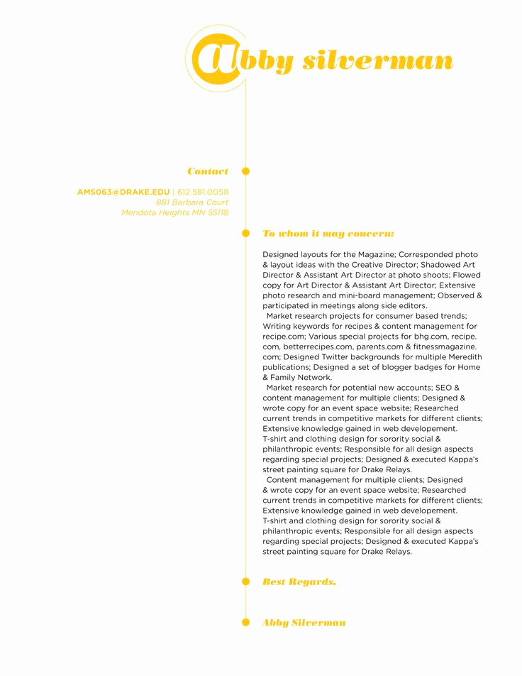 Graphic Design Cover Letter Examples Inspirational 22 Best Images About Graphic Design Resume On Pinterest