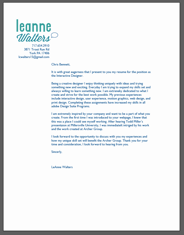 Graphic Design Cover Letter Examples Luxury Image Result for Graphic Design Internship Cover Letter