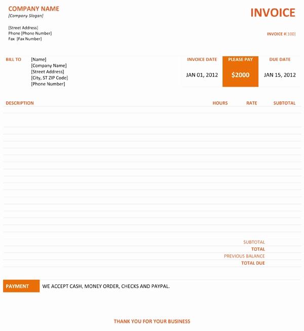 Graphic Design Invoice Template Unique Graphic Design Invoice