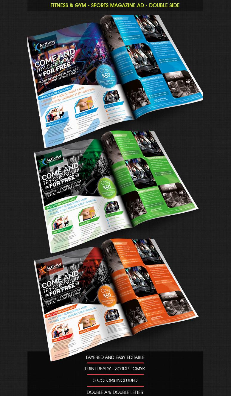 Gym Membership Cancellation Letter Inspirational Fitness & Gym – Sports Magazine Ad ‹ Psdbucket