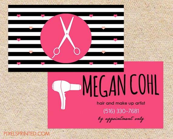 Hair Salon Business Cards Awesome 30 Best Business Cards Images On Pinterest