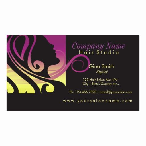 Hair Salon Business Cards Awesome Hair Salon Business Card