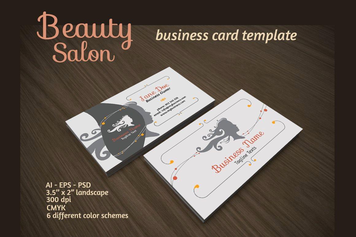 Hair Salon Business Cards Beautiful Beauty Salon Business Card Business Card Templates