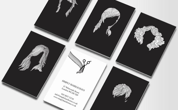 Hair Salon Business Cards Elegant Hair Stylist Business Cards
