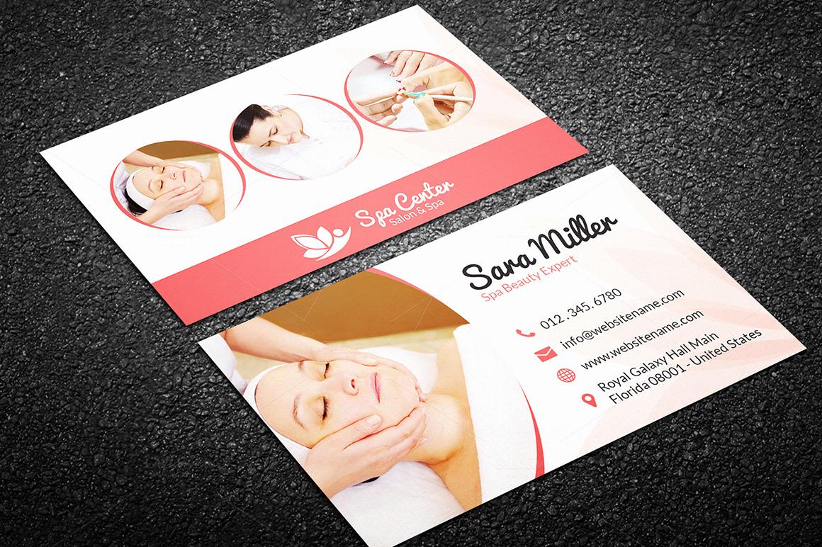Hair Salon Business Cards Fresh Beauty Salon Spa Business Card 41 Business Card