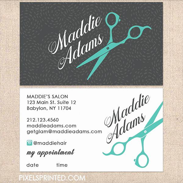 Hair Salon Business Cards Luxury Best 25 Hairstylist Business Cards Ideas On Pinterest