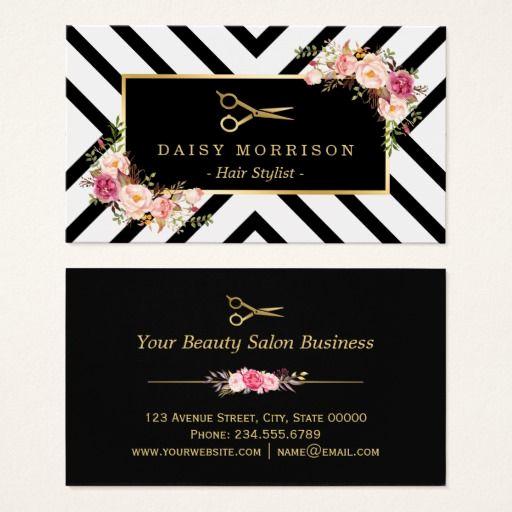 Hair Salon Business Cards New 139 Best Salon Business Cards Images On Pinterest