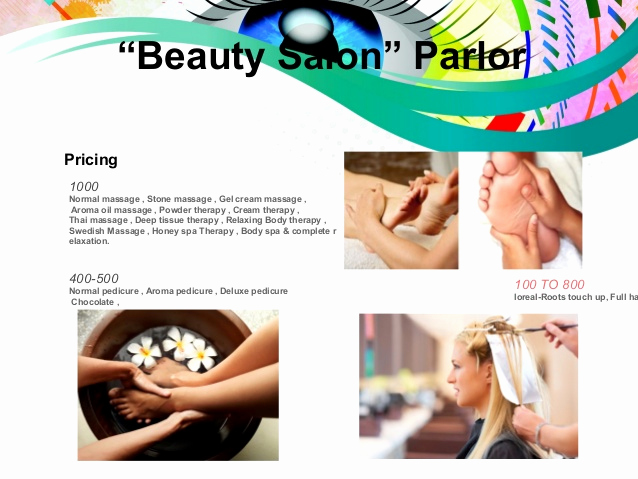 "Hair Salon Business Plan Best Of Business Plan Presentation "" Beauty Salon Parlor"