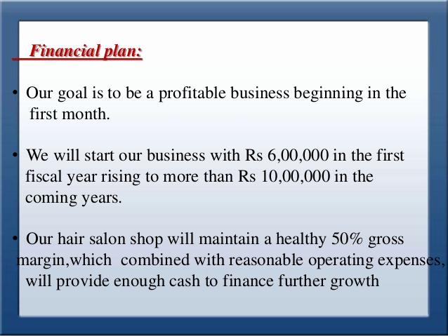 Hair Salon Business Plan Lovely Example Of Salon Business Plan Reportz725 Web Fc2