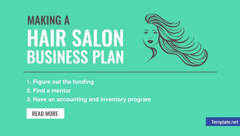 Hair Salon Business Plan Luxury Making A Hair Salon Business Plan