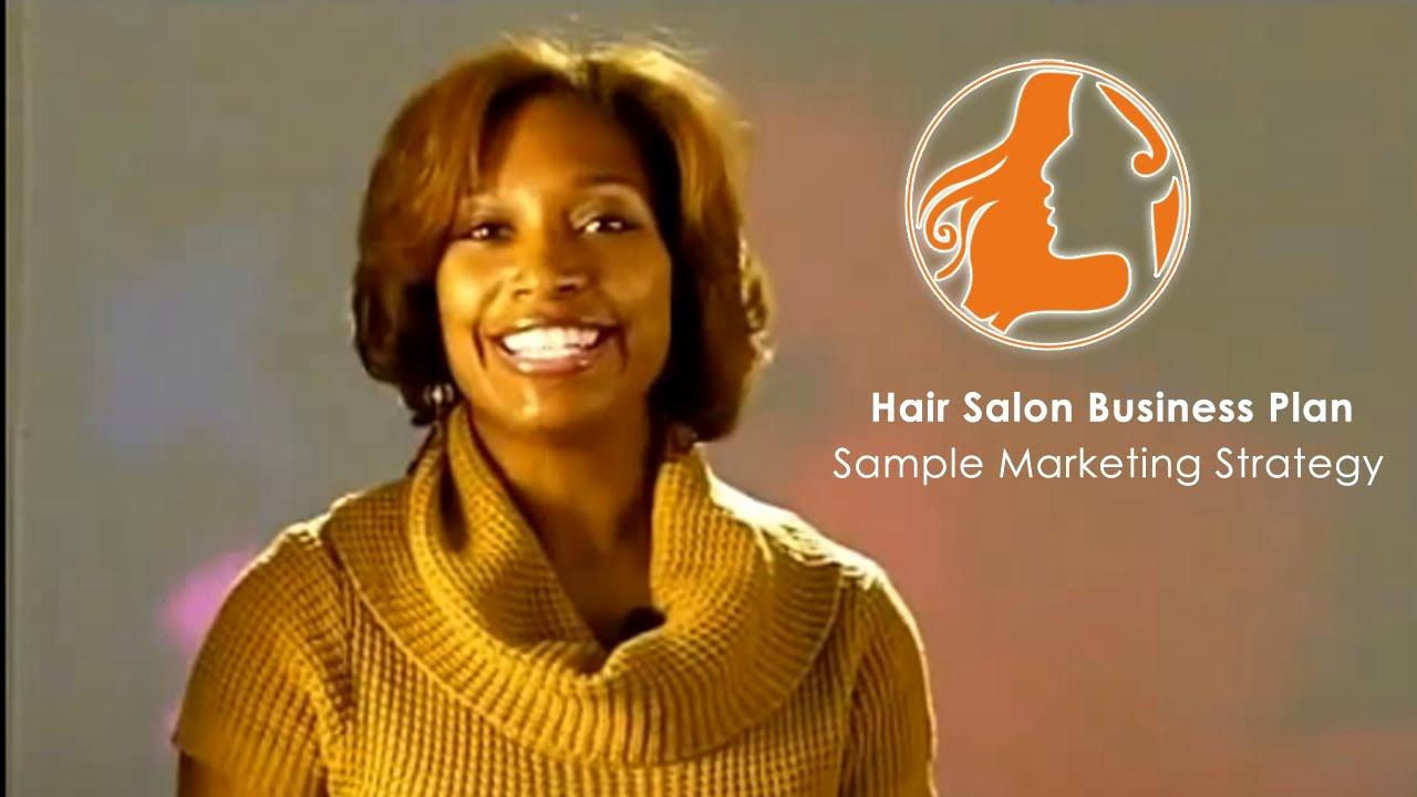 Hair Salon Business Plans New Hair Salon Business Plan Sample Marketing Strategy