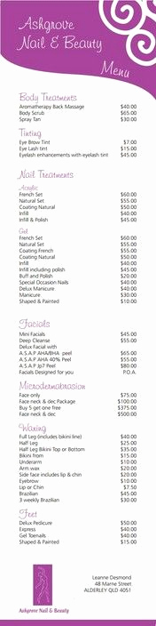 Hair Salon Price Lists Beautiful 1000 Images About Salon Pricing On Pinterest