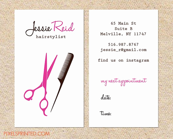 Hair Salons Business Cards Awesome top 27 Professional Hair Stylist Business Card Tips