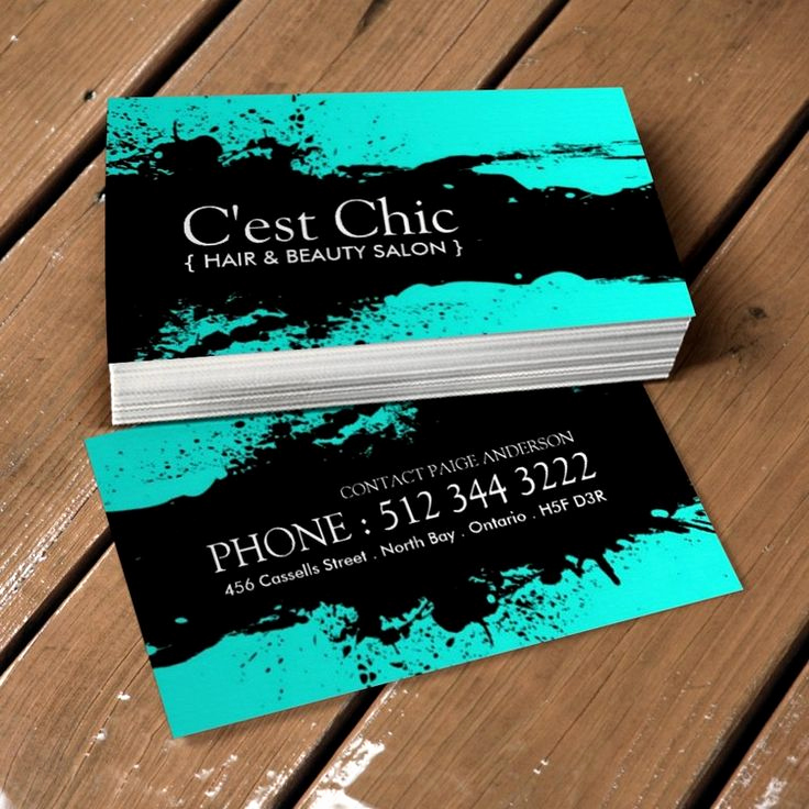 Hair Salons Business Cards New 17 Best Images About Hair Salon Business Card Templates On