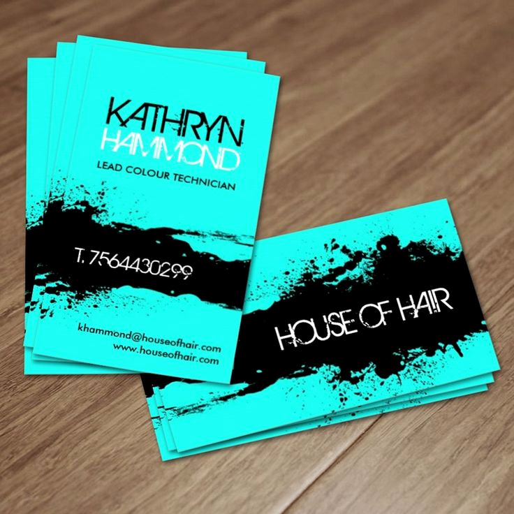 Hair Stylist Business Cards Awesome Salon Business Cards