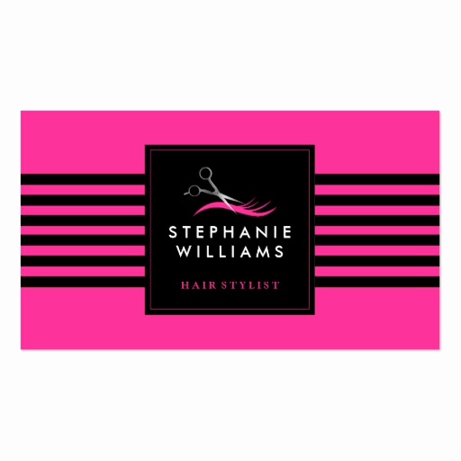 Hair Stylist Business Cards Beautiful Customizable Hair Stylist Business Card Template