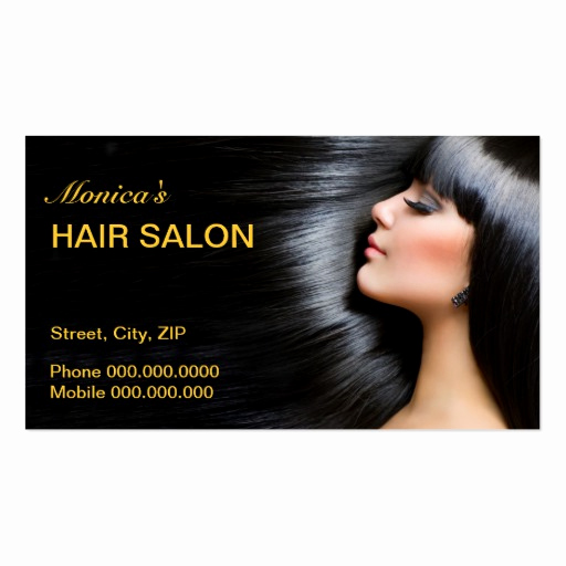 Hair Stylist Business Cards Beautiful Hair Salon Business Card Business Card