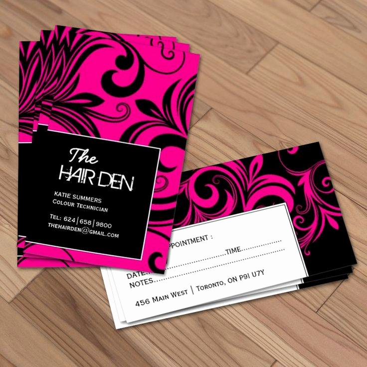 Hair Stylist Business Cards Best Of top 25 Hair Stylist Business Card Examples From Around the Web