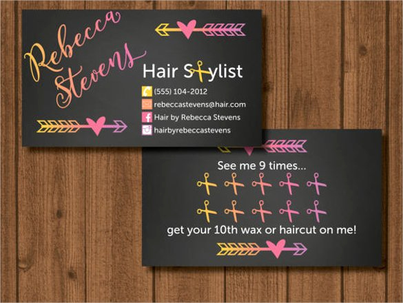 Hair Stylist Business Cards Elegant 41 Hair Stylist Business Card Templates Ai Psd Word