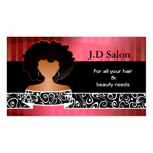 hair salon businesscards business card templates