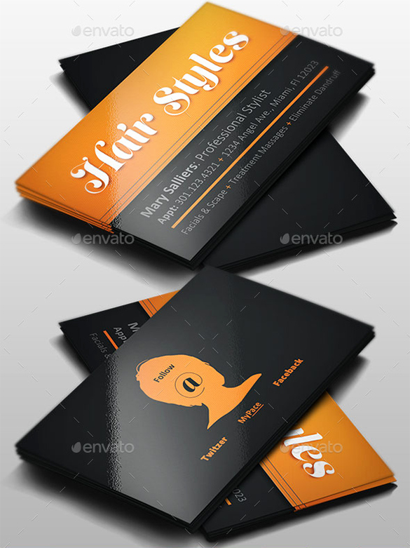 Hair Stylist Business Cards Fresh 41 Hair Stylist Business Card Templates Ai Psd Word